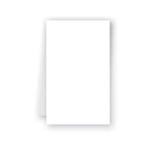 Tovaglia bianca in airlaid 100x100
