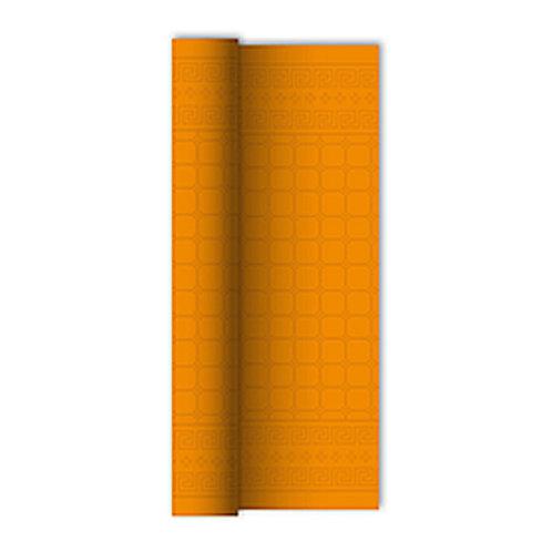 Tovaglia in rotolo Arancio 1,20x7 mtdamascata