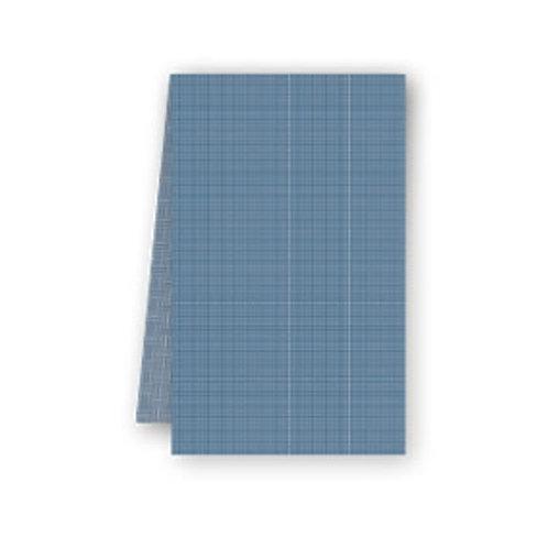 Tovaglia blu oltremare in Airlaid 100x100