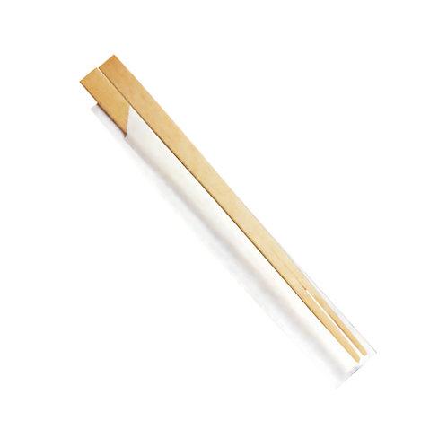 100Bacchette cinesi in legno imbustate singolarmente203 mm