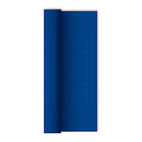Tovaglia in rotolo Blu Notte1,20x7 mtdamascata