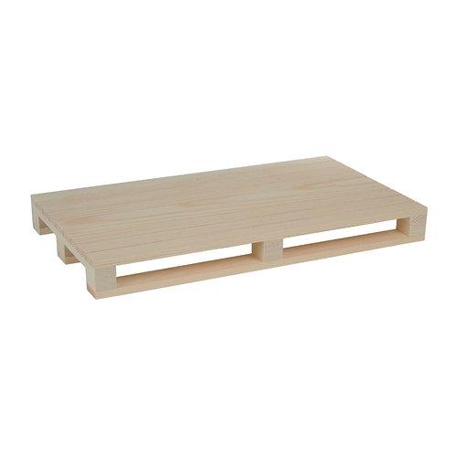 1Mini pallet in legno40x15,2x3.5 cm