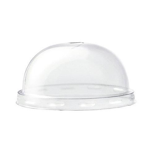 100 Coperchi dome in PLA per bicchiere 200 / 237 ML Ø 76 mm