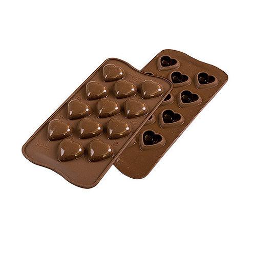 """Stampo in silicone per cioccolatini """"my love"""""""