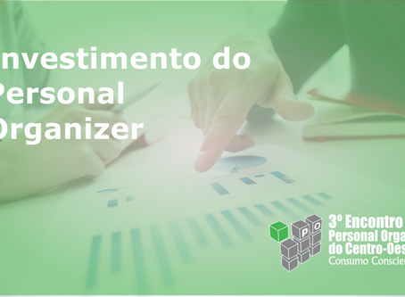 Investimento do Personal Organizer