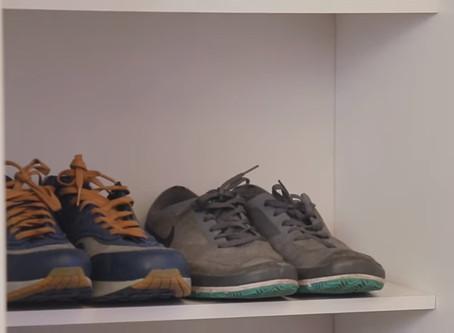 Organizador de sapatos, cestos e ideias nada comuns: