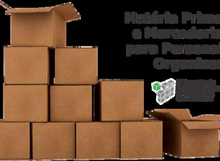 Matéria Prima e Mercadoria para Personal Organizer