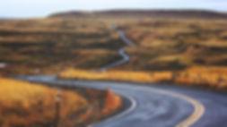 Montana winding road
