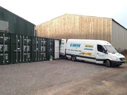 Storage removals van