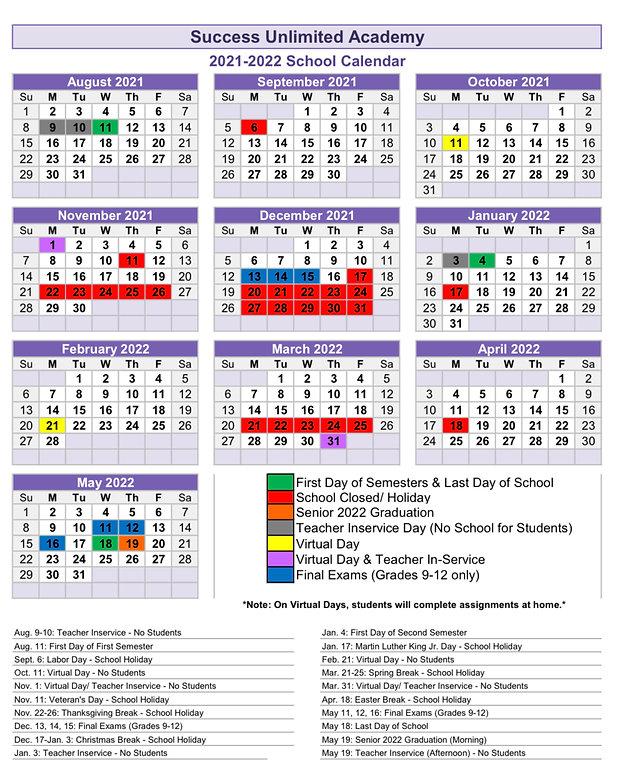 2021-2022 Updated School Calendar.jpeg