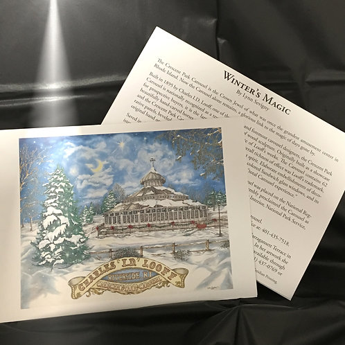 """Winter's Magic"" Note Cards"