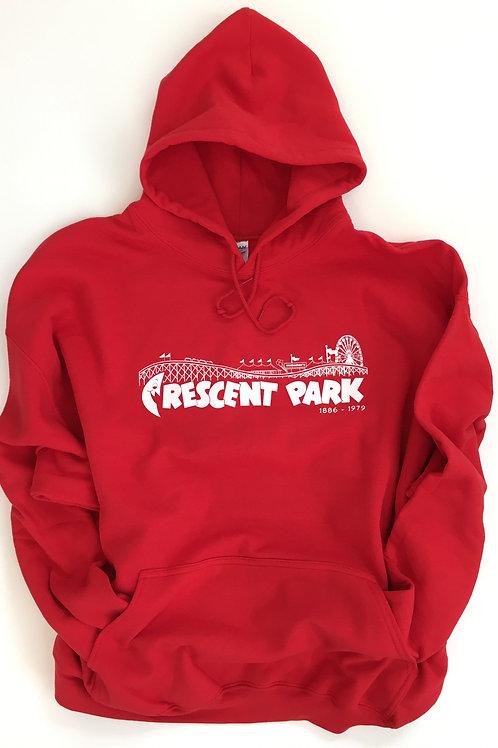 Hooded Crescent Park Retro Logo