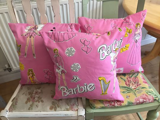 Limited edition Barbie Cushions