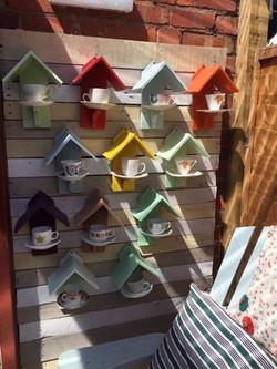 teacup birdfeeders