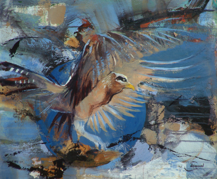 Wings spreading Wind