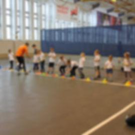 Детская школ бега