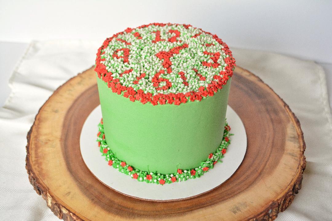 Garden Clock Cake