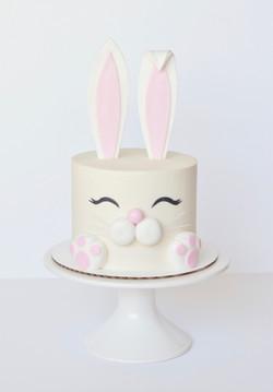 Bunny Face Cake