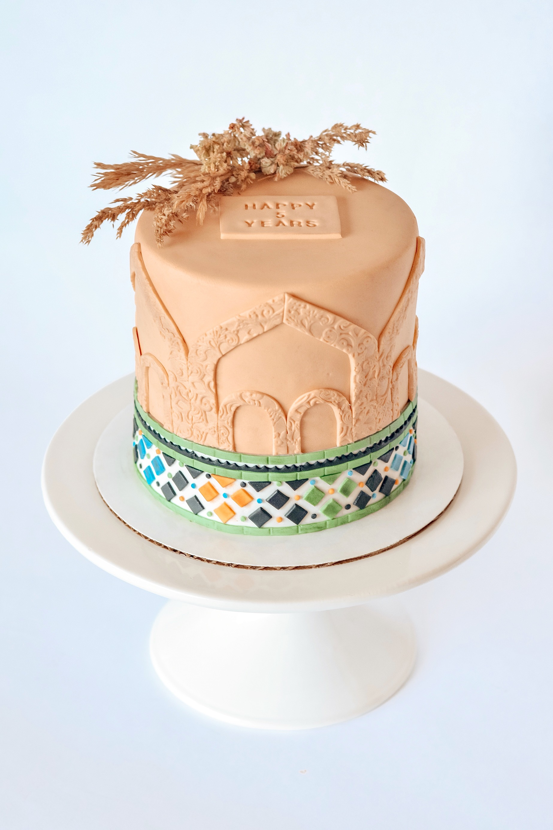 Spain Themed Cake