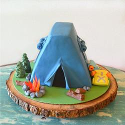 3D Tent Cake