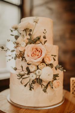 Blush Wedding Cake