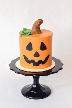 Jack O' Lantern Cake