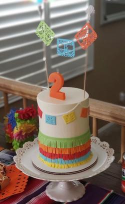 Taco Twosday Cake