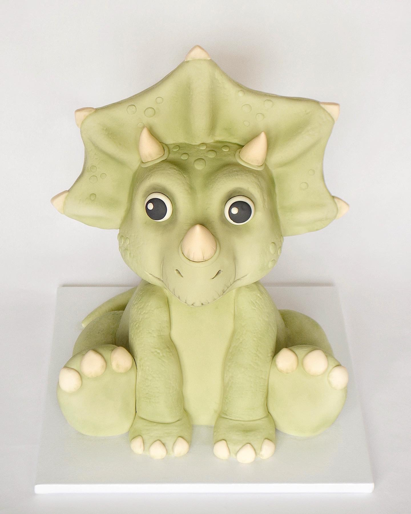 3D Triceratops Cake
