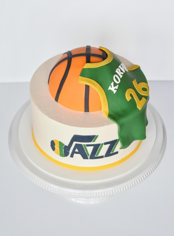 Basketball & Jersey Cake