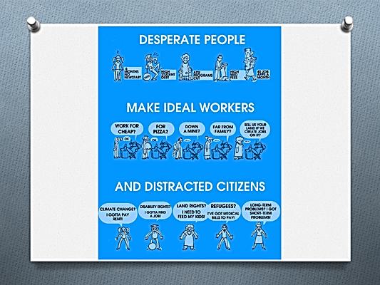 Des gens déséspérés font des travailleurs idéals et des citoyens distraits