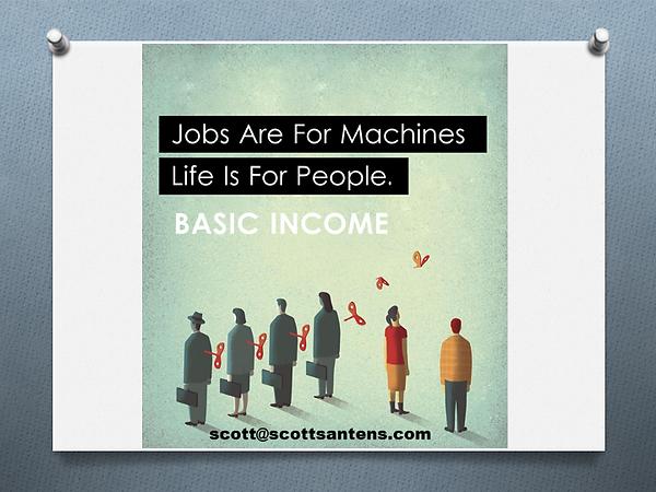 Les emplois son pour les machines; la vie est pour les humains