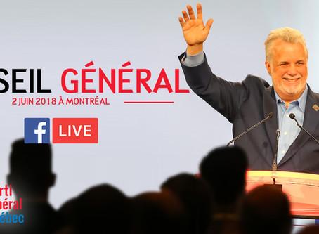 Le parti libéral du Québec s'assemble