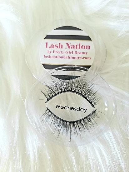 Wednesday Strip Eyelashes by Lash Nation