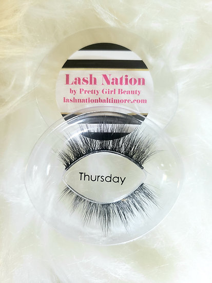 Thursday Strip Eyelashes by Lash Nation