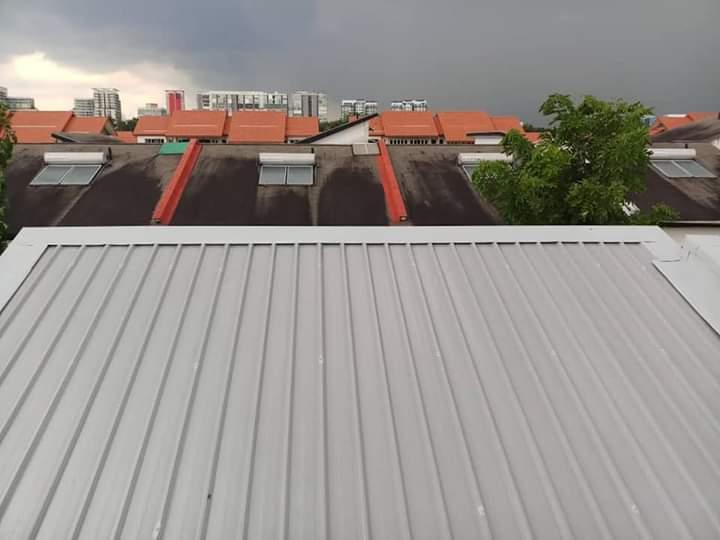 Metal Deck Alumbond Pro Roofers