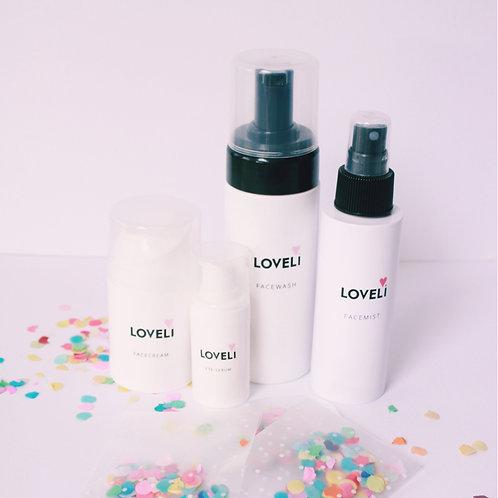 Loveli set《 40/ vetarme huid