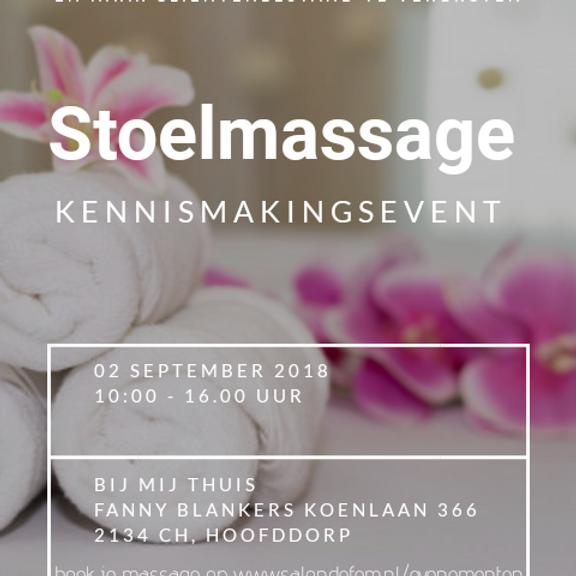 Stoelmassage Event