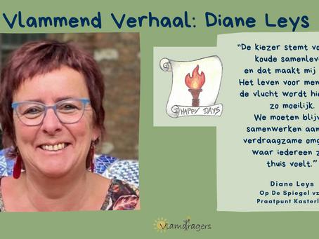 Diane helpt geregulariseerde vluchtelingen