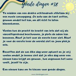 goede dingen #18