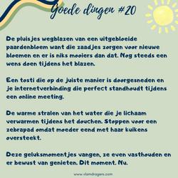 goede dingen #20