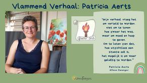 Patricia was net zwanger toen haar man stierf