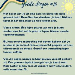 goede dingen #10
