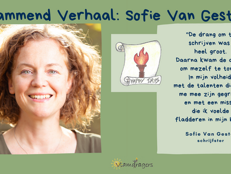 Sofie publiceerde haar eerste roman