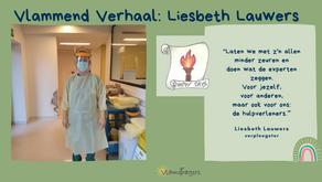 Liesbeth stond als verpleegster in de frontlinie
