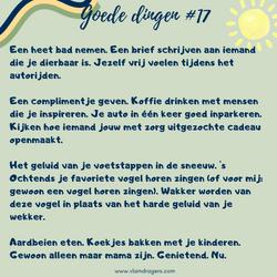 goede dingen #17