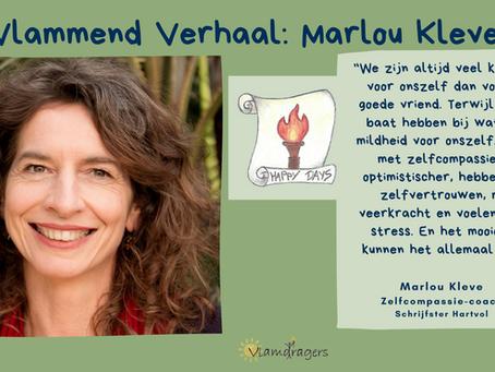 Marlou leert ons de kracht van zelfcompassie