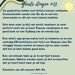 goede dingen #13