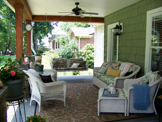 11 Ways to get more from your summer porch.
