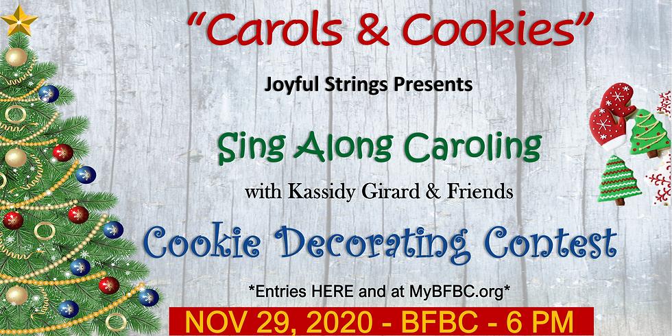 Joyful Strings' Carols & Cookies