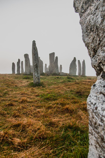 Mist at the Callanish Stones